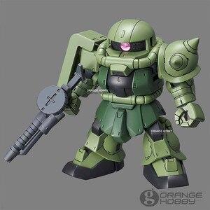 Image 2 - OHS Bandai SD CS Q Ver. Gundam Çapraz Siluet Zaku II SD Çerçeve Dahil Mobil Takım Elbise Montaj Modeli Kitleri