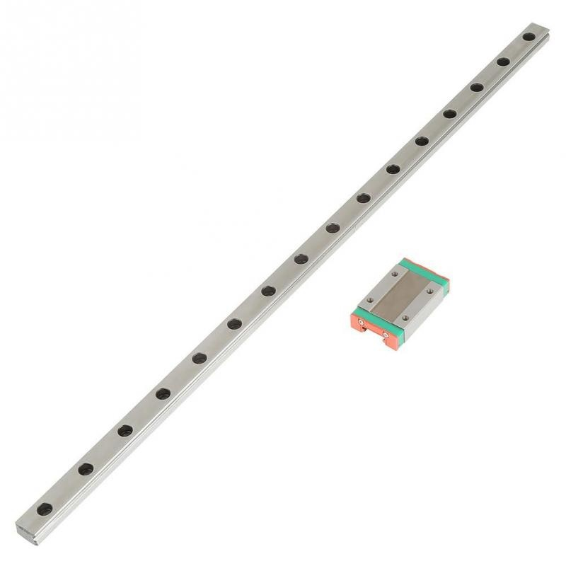 Mini for 12mm Linear Guide MGN12 400mm linear rail MGN12C Long linear carriage for CNC X Y Z Axis 3d printer part-in 3D Printer Parts & Accessories from Computer & Office