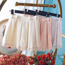 Princess sweet lolita shorts In autumn and winter temperament ladies waist slim fashion and sweet embroidery shorts UF127