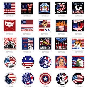 Image 2 - Наклейки и наклейки на автомобиль, американский флаг США, 100 шт.