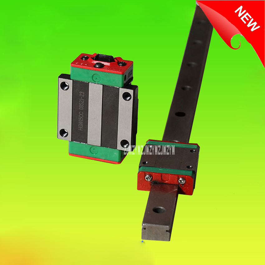 все цены на New Linear Guide Square Open Type Slider, HGR20 Linear Guide 6pcs HGR20 -L1500mm Rail +12pcs HGH20CA Narrow Blocks Hot Selling онлайн
