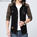 AIRGRACIAS Весна Мужчины Куртку Водонепроницаемый Случайные Капюшоном Куртки Мужчины Пальто Homme С Капюшоном Куртка Brand Clothing