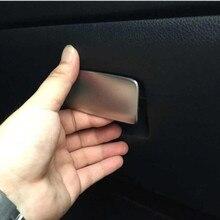 1 шт. копилот коробка для хранения блестки ручка шкафчика наклейки для Mercedes Benz GLA CLA 200 260 класс внутренние аксессуары