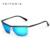 VEITHDIA ÓCULOS de Marca óculos de Sol dos homens de Alumínio E Magnésio Polarizados Óculos Acessórios Óculos de Sol Da Lente do Espelho Ao Ar Livre Para Os Homens 6381