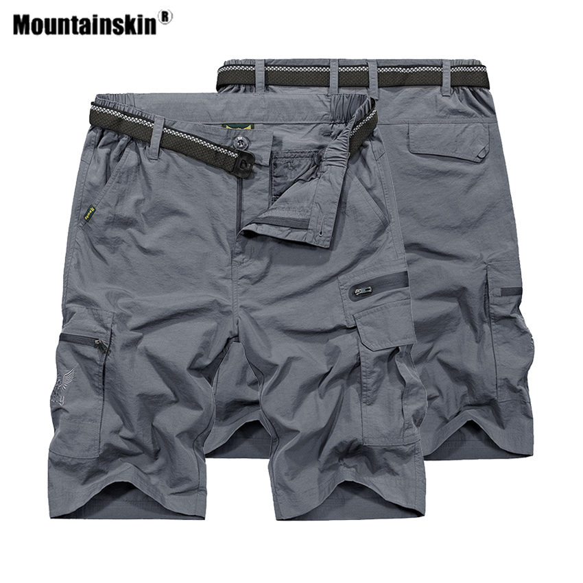 Mountainskin Men's Summer Quick Dry Hiking Shorts Outdoor Waterproof Tactical  Trekking Fishing Men Sports Short Trousers VA451