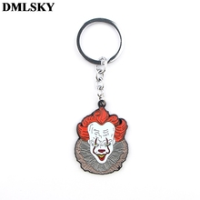 DMLSKY Stephen Kings It Funny alloy Key Chains Ring Gift For Women Men Bag Charm Keychain Keyring Jewelry M3653