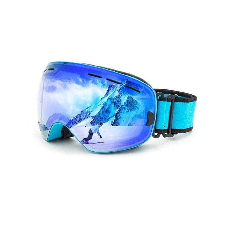 2019 nouveau Style lunettes de Ski hommes femmes Snowboard verre Anti-buée 400 Protection UV Ski de neige protéger les yeux ventes livraison gratuite