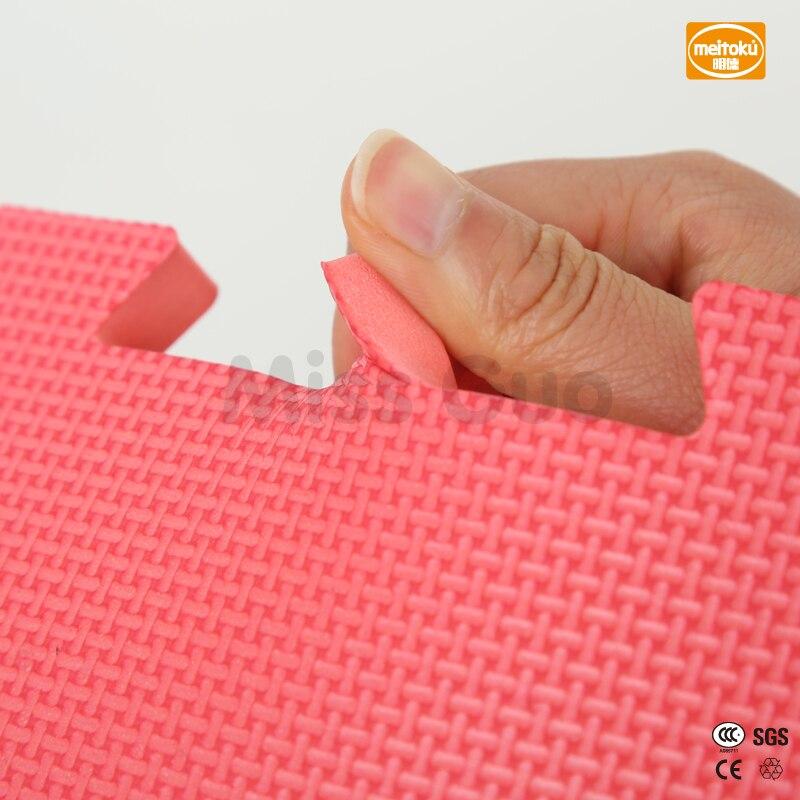 Meitoku-baby-EVA-Foam-Play-Puzzle-Mat-18-or-24lot-Interlocking-Exercise-Tiles-Floor-Mat-for-KidEach-30cmX30cm1cmThick-4