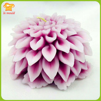 3D Dali Chrysanthemum soap mold silicone mold handmade candles candle chrysanthemum decoration moulds
