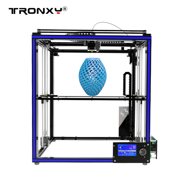 Tronxy X5S DIY 3D Printer Kits Dual Z Axis Large Print Size 330 * 330 * 400mm with LCD12864 Screen Metal Frame High Precision