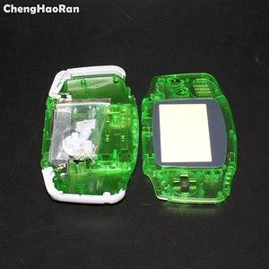 Image 2 - ChengHaoRan עבור Gameboy Advance מעטפת מלא שיכון מקרה מעטפת עבור נינטנדו GBA דיור מקרה קונסולת כפתורי בורג נהג