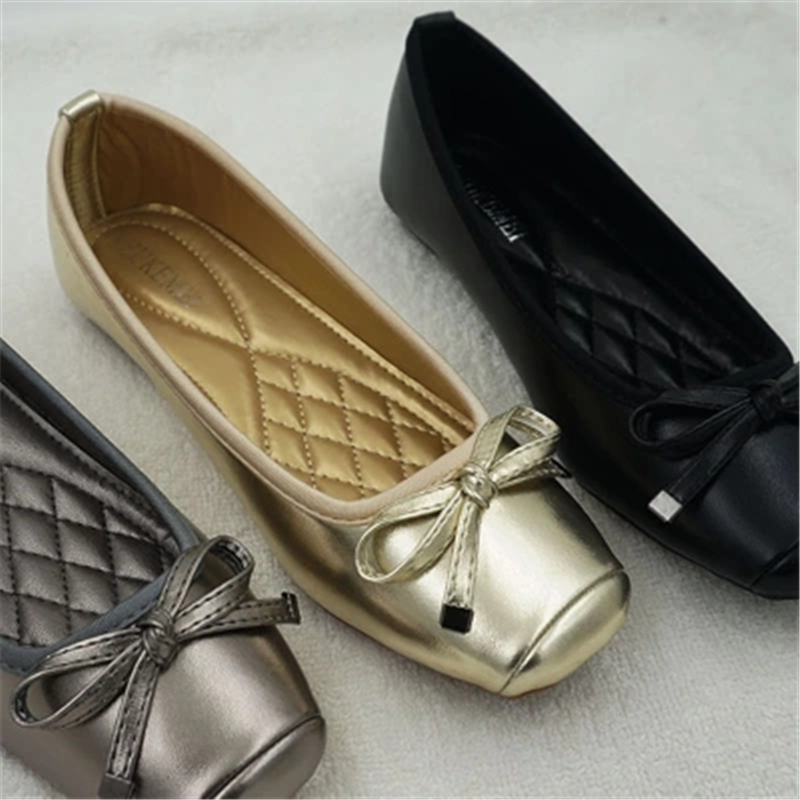 15f78f294c ... cheapest womens big size 35 42 shoes female coach ballet shoe soft  comfortable flat shoe woman