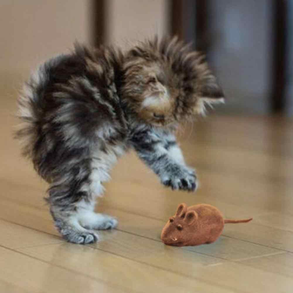 1 шт. котенок питомец собака играющая игрушка игрушечная Мышь Крыса пищалка шум игрушка со звуком