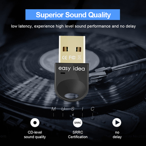 Image 4 - Sans fil USB Bluetooth 5.0 adaptateur Bluetooth Dongle 4.0 Mini récepteur Audio haute vitesse Bluetooth émetteur pour ordinateur