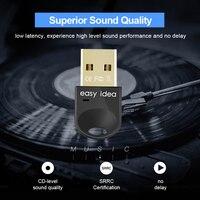 mini wireless bluetooth Wireless USB Bluetooth Adapter PC Bluetooth Dongle CSR 4.0 Mini Audio Receiver High Speed Bluetooth Transmitter For Computer PC (4)