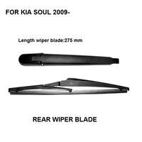 Free Shipping Car Accessories For Kia Soul 2009 2016 Rear Windscreen Windshield Wiper Arm And Wiper