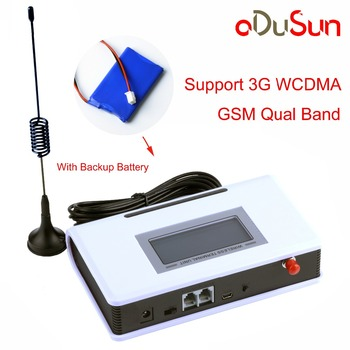 3G WCDMA Fixed Wireless Terminal with Battery Support Alarm System PABX Caller ID QUECTEL Module Stable Signal 1