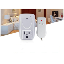 Smart USA Plug 1 Wireless Remote Control, 1 Socket Receiver Smart Power Socket Switch Family Electrical Remote