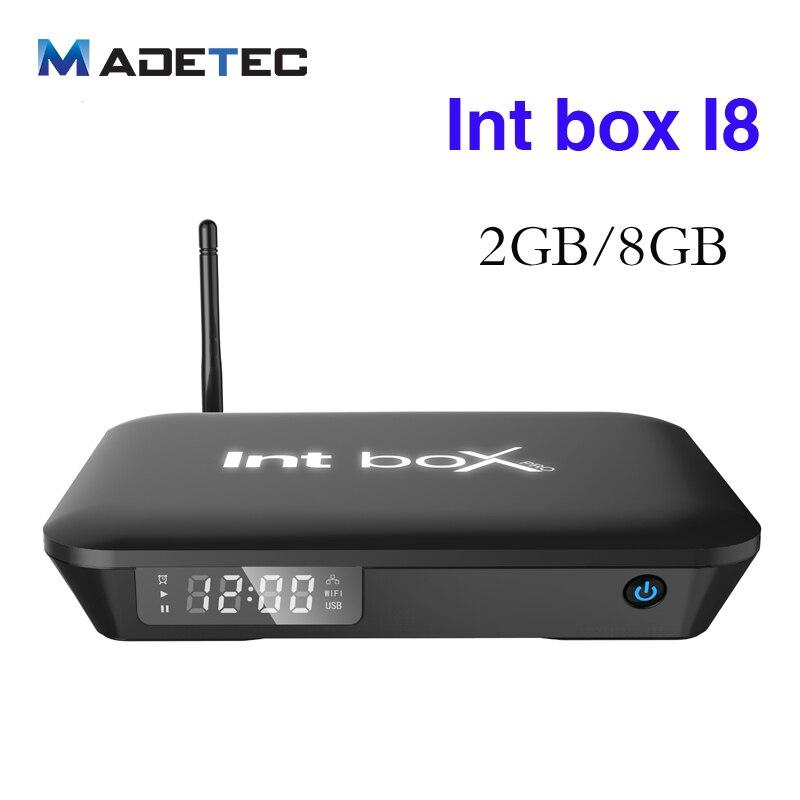ФОТО  Int box Tv Box I8 android 6.0 Amlogic S912 Octa Core 2GB 8GB Dual WIFI 2.4G/5G 1000M Ethernet 4K IPTV TV Set-Top Boxes VB113