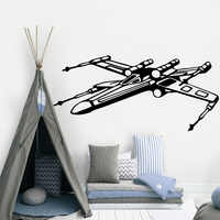 Cute star wars Decal Removable Vinyl Mural Poster For Kids Room Living Room Home Decor Diy Pvc Home Decoration Accessories