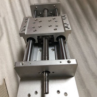 Manual Sliding Table XYZ axis DIY Travel 400mm Ballscrews SFU1605 C7 High Precision 18mm Linear Slide Table CNC Engraving Parts