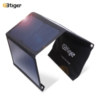 Original GBtiger 21W Dual USB Sunpower Panel Power Emergency Bag