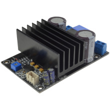 IRS2092 High Power 200W Single Channel Class D Amplifier Board Free Shipping with Track Number 12003197 free shipping assembled tda7294 2 1 channel deluxe upgrade amplifier board with horn protection