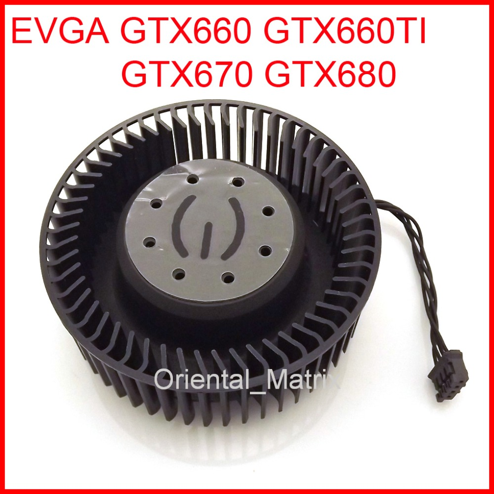 Free Shipping BFB0712HF 65mm 12V 1.8A For EVGA GTX660 GTX660TI GTX670 GTX680 Graphics Card Cooling Fan 4Pin 4Wire free shipping 128015 sh2 12v 0 40a 75mm 47x47x47mm for sparkle gtx460 culb 3d hd7750 graphics card cooling fan 4pin 4wire