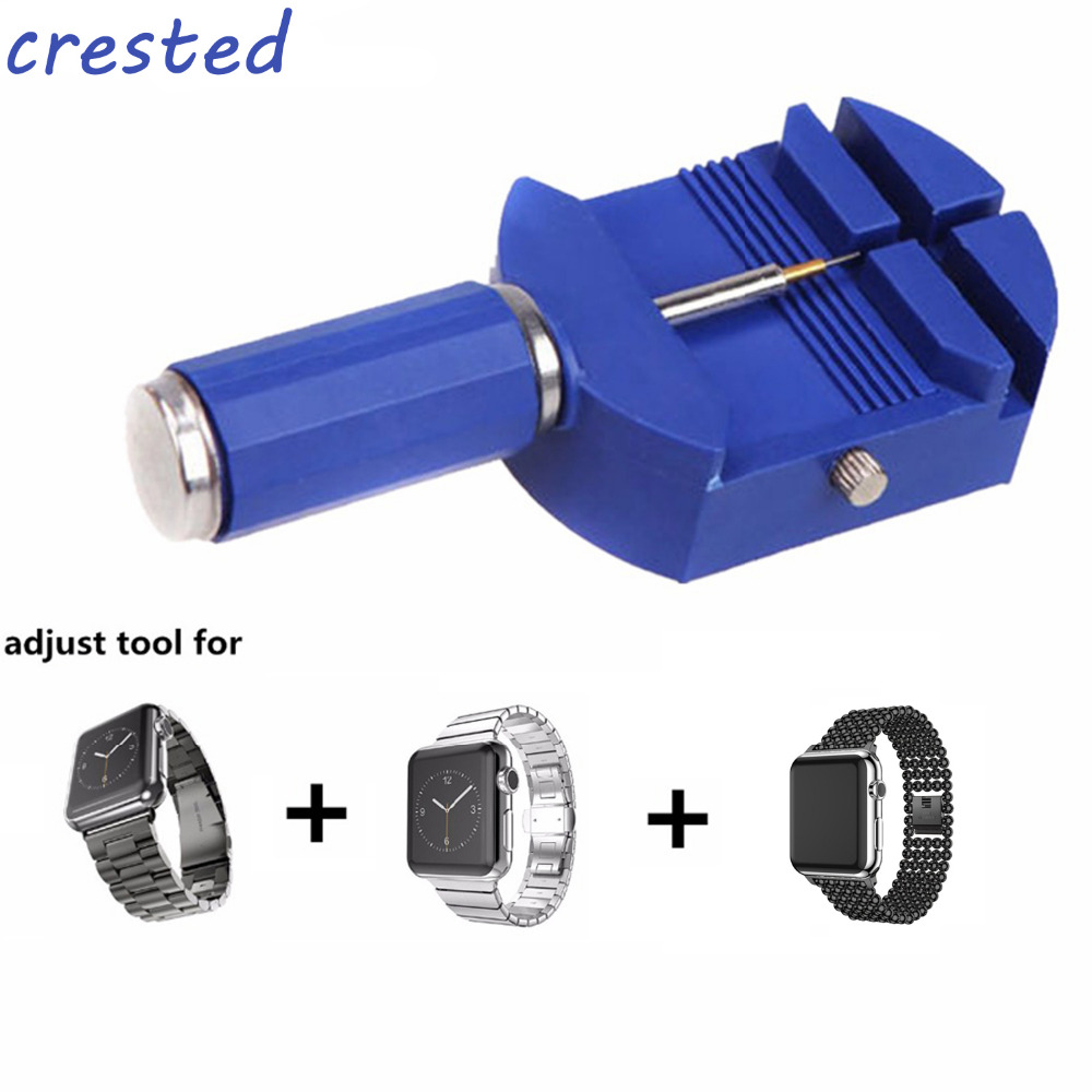 CRESTED watch accessories Adjust length tool for stainless steel watch band Repair Tool Plastic Adjust Watch Band Tool