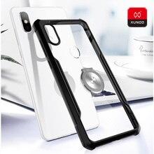 Original Luxury Soft Silicone Case For Xiaomi mi8 SE Explorer Version Transparent Finger Ring Cover Magnetic car holder