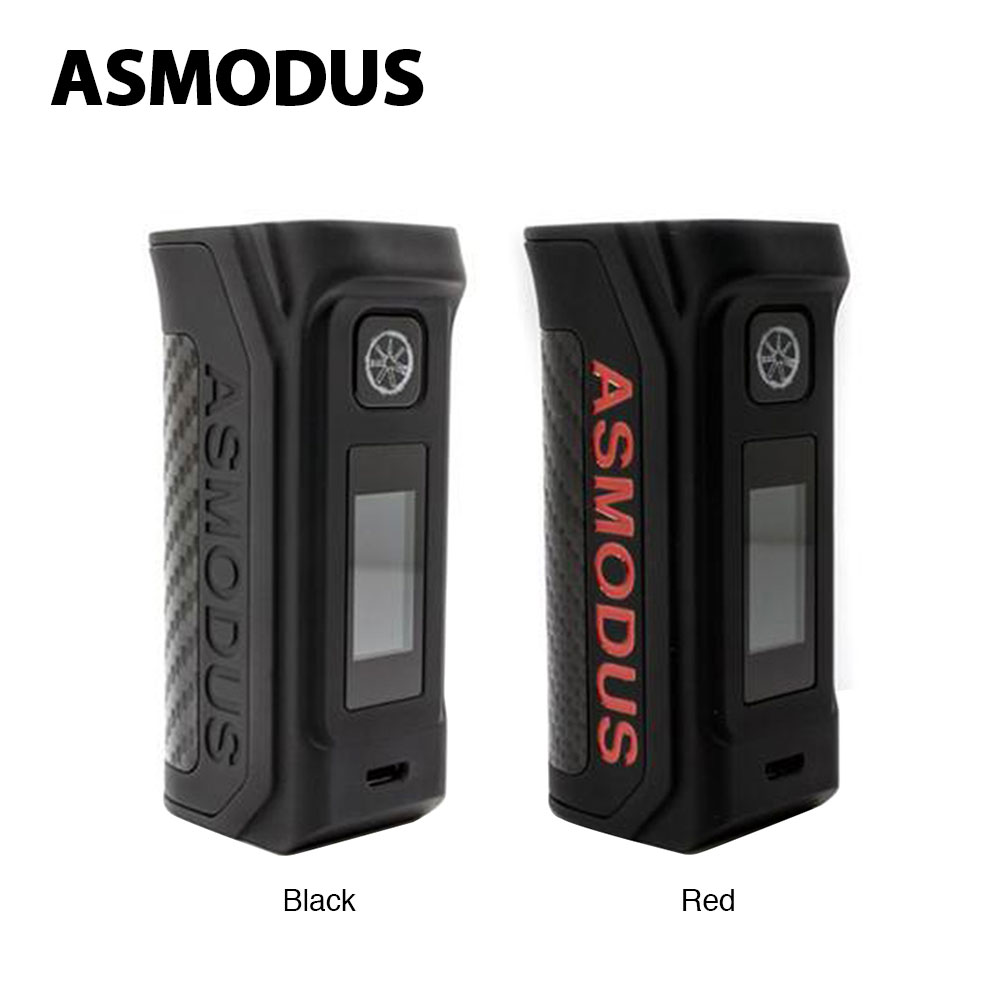 Original 100W Asmodus Amighty Touch Screen TC Box MOD Fit 18650/20700/21700 Battery Box Mod VS LOST VAPE Paranormal / Drag 2