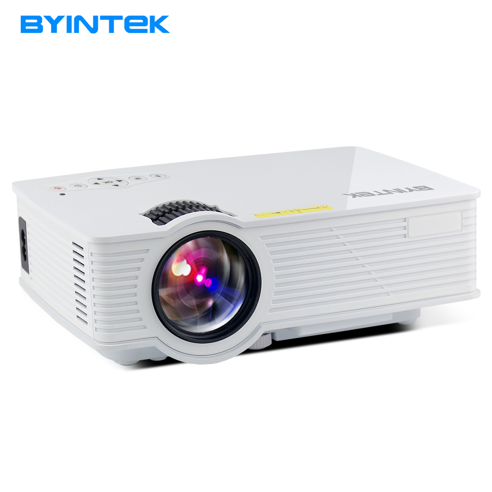 Projector byintek bt140 mini portable video lcd digital for Portable video projector