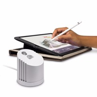 Detachable Aluminum Alloy Charger Dock Station Stand Holder With Charging Cable For Apple IPad Pro Pencil