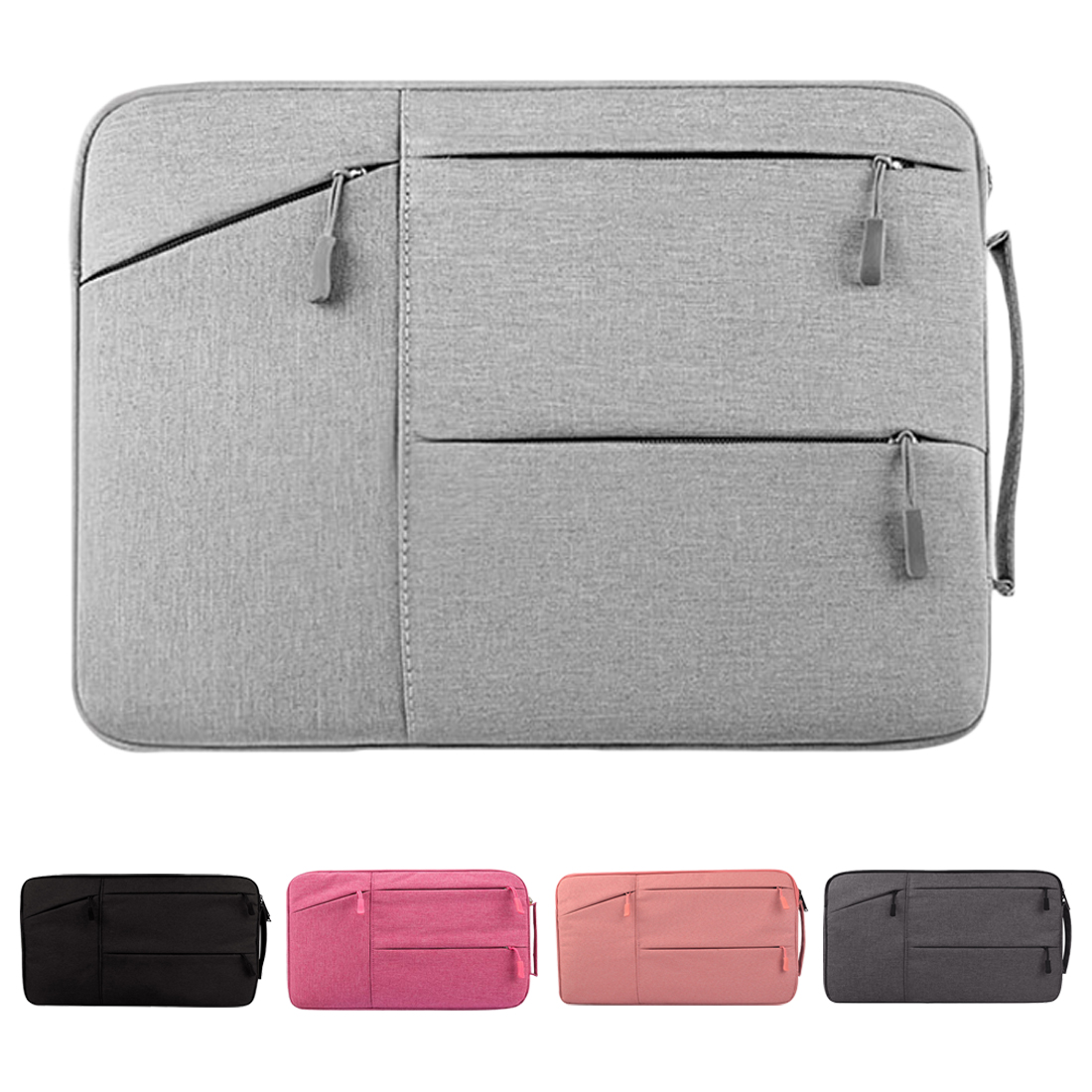 New Fashion Laptop Sleeve Case For Macbook Air Pro Retina 11 12 13 14 15 15.6 Laptop Bag PC Tablet Case Covers For Xiaomi Air