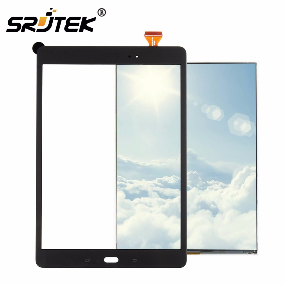 Srjtek LCD Touch Panel For Samsung Galaxy Tab A 9.7 SM-T550 T550 T551 T555 LCD Display Touch Screen Digitizer with Tracking