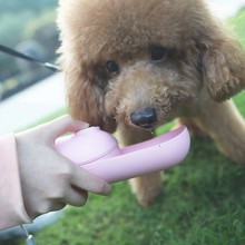 Dog Water Bottle Portable Mini Pet Cup for Dogs/Cats Slide Container Drinking Bowls Outdoor Travel 350ML