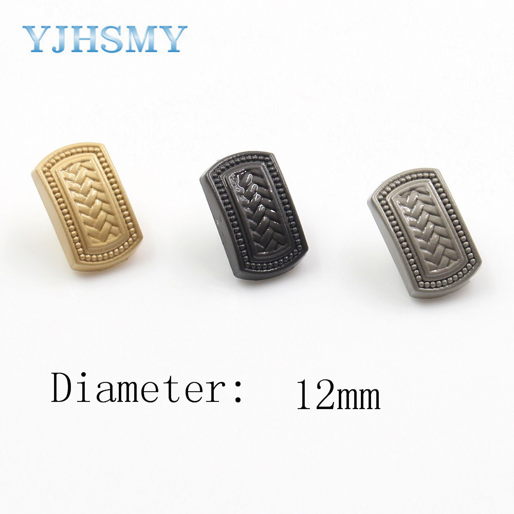 YJHSMY A-18315-29,<font><b>12</b></font> <font><b>mm</b></font> 10 pcs classic metal <font><b>buttons</b></font>,clothing accessories,DIY craft materials,craft sewing accessories <font><b>button</b></font> image