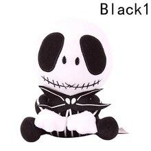 25cm Mini Christmas Eve scare Jack Plush font b Doll b font Cute Devil skull toy