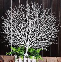 Foreign series simulation coral branch branch coral branch studio shooting supplies wedding props window decoration branch