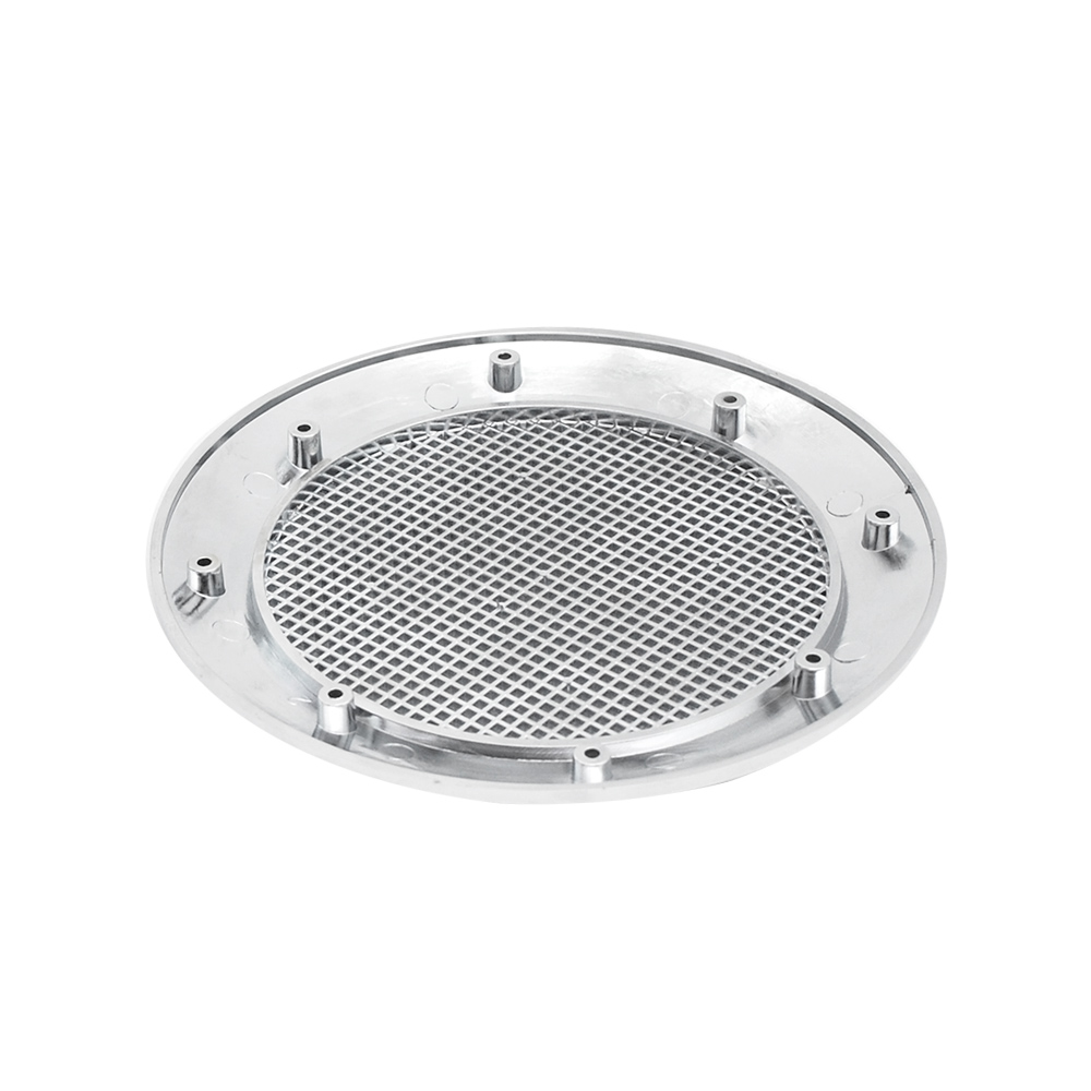 2pcs lot chromed covers for Hi fi speaker or exhaust fan for steam generator or shower controller panel in Shower Rooms from Home Improvement