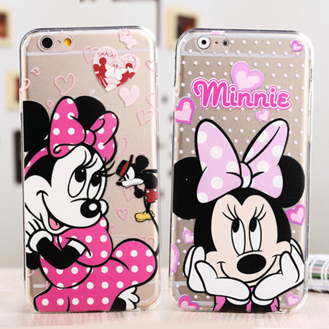 custodia iphone 5s con minnie