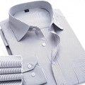 Los Hombres de la marca Camisa Masculina Camisas de Vestir de Los Hombres de Moda Casual de Manga Larga Camisa Formal de Negocios Camisa Masculina Social Nuevo 2017