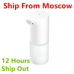 (In Stock) Xiaomi Automatic Foaming Hand Washer Mi Home Soap Dispenser 0.25s Infrared Auto Induction Foaming Xiaomi Smart Home