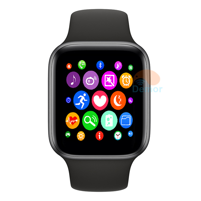 IWO 8 Plus Smart Watch 44mm Series Bluetooth Connected Smartwatch for Men Women Earphone Gift iPhone Android Phone Apple Watch 4