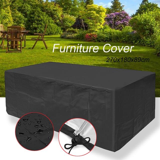 Waterproof Outdoor Patio Furniture Rain Cover Waterproof Wicker Sofa