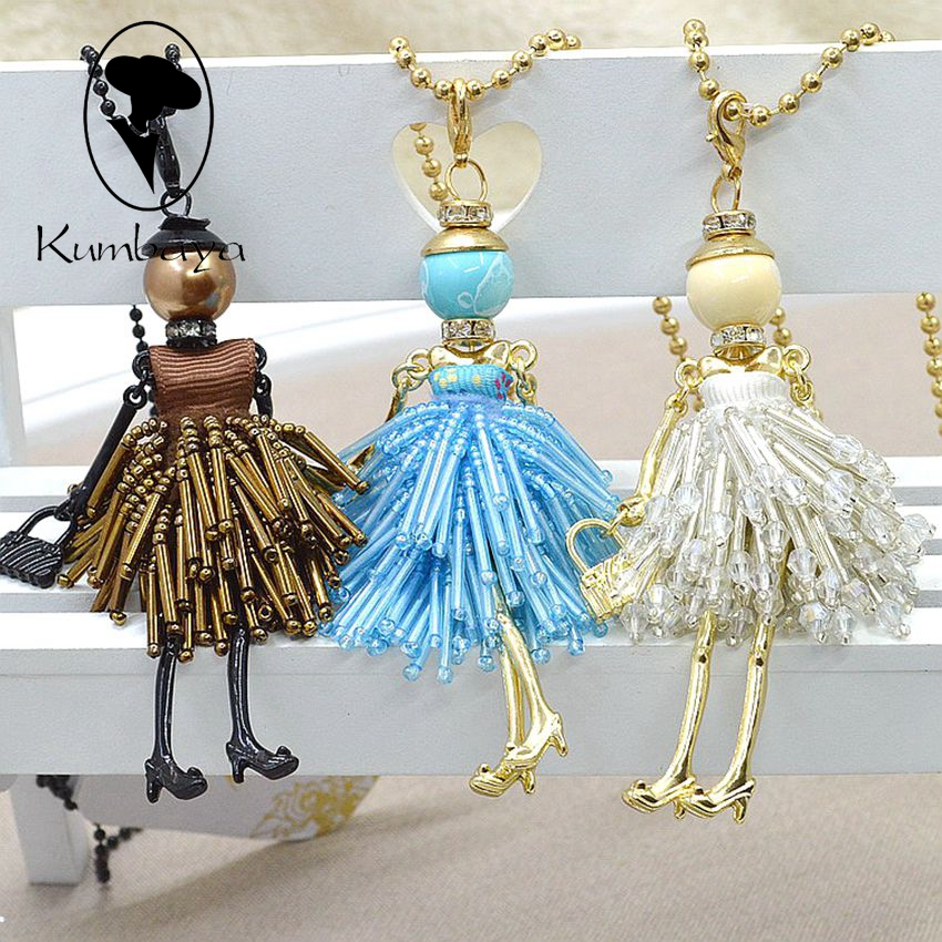 Latest New Fashion Doll Necklace! Cute Ss
