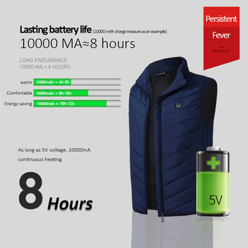 Electric Heated Vest Rechargeable