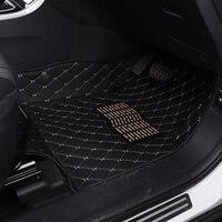 Автомобильный коврик коврики для Mercedes GLK X204 GLC x253 ML ml320 ml400 W164 W166 CLA SLK R171 amg, правая сторона вождения