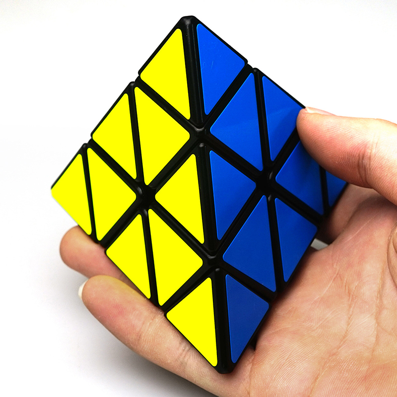 Classic Toys pyraminx Magic Speed Cube professional pyramid cubo magico Cast Coated Puzzle Speed Toys for children Adult