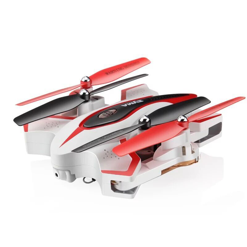 Syma X56W RC Quadcopter Drone 2.4G 4 Channel 6-Axis Gyro With 0.3MP HD Camera Barometer Set Height Racing Quadroopter